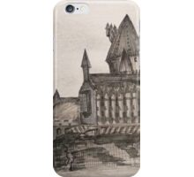 Hogwarts | Sketchbook iPhone Case/Skin