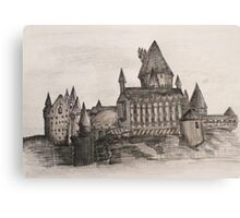 Hogwarts | Sketchbook Canvas Print