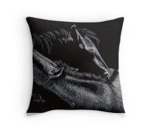 Night Mare Throw Pillow