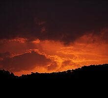 Red sky at night......Sailor's delight.......not always......! by Roy  Massicks