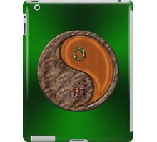 Taurus & Tiger Yang Wood iPad Case/Skin