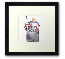 World's Greatest Dad Framed Print