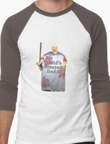 World's Greatest Dad Men's Baseball ¾ T-Shirt