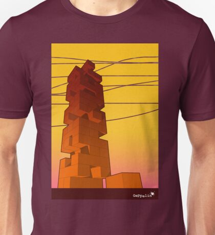 J-buiding sunset Unisex T-Shirt