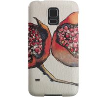 Pomegranate. Pen and wash 2012 Samsung Galaxy Case/Skin