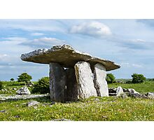 The Poulnabrone Dolmen Photographic Print