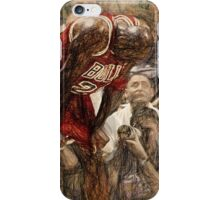 Michael Jordan The Flu Game iPhone Case/Skin