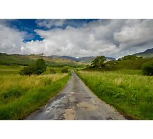 Road to the Gap of Dunloe  Photographic Print