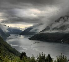DOF on the Sognefjord  (2) by Larry Lingard-Davis