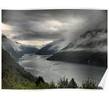 DOF on the Sognefjord  (2) Poster