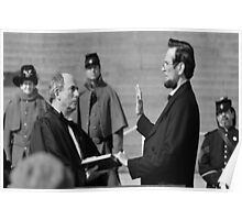 Swearing in ceremony  Poster