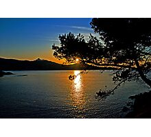 sunrise Cap Esterel-France Photographic Print