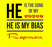HE IS MY BIAS Rapmon - Yellow by Kpop Seoul Shop