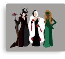 Queens of Darkness Canvas Print