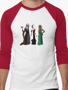 Queens of Darkness Men's Baseball ¾ T-Shirt