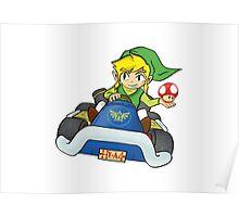 Mario Kart: Toon Link Poster