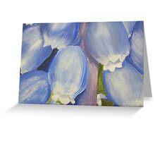 ACEO grape hyacinth Greeting Card