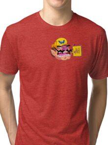 WAH (Wario) Tri-blend T-Shirt