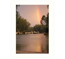 Sunrise Echuca 1 Art Print