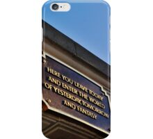 Main Street Entrance iPhone Case/Skin