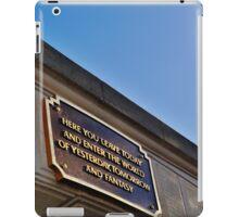 Main Street Entrance iPad Case/Skin