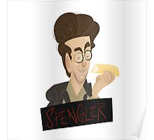 Ghostbusters: Spengler Caricature  Poster