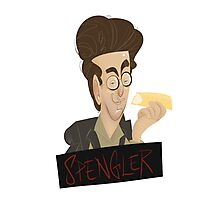 Ghostbusters: Spengler Caricature  Photographic Print