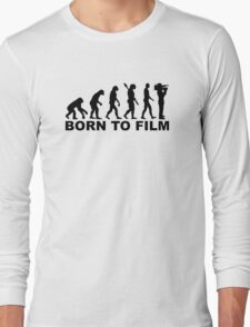 Evolution Born to film Long Sleeve T-Shirt