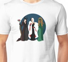 Queens of Darkness - Circle Variant Background Unisex T-Shirt