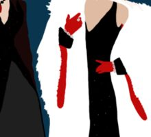 Queens of Darkness - Circle Variant Background Sticker