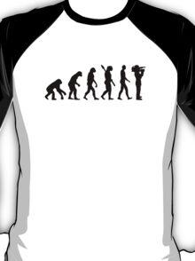 Evolution Cameraman T-Shirt