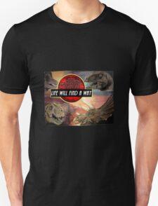 Jurassic Park - Life Will Find A Way T-Shirt