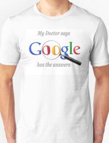 Hypochondriac Google Unisex T-Shirt