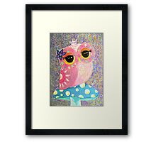 Owl Fairy Princess Framed Print