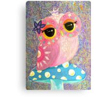 Owl Fairy Princess Canvas Print