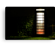 """Late Night Caller"" Canvas Print"