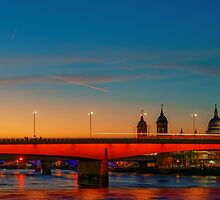 London At Twilight, England by atomov