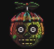 Five Nights at Freddy's 3 - Pixel art - Phantom Balloon Boy Kids Clothes