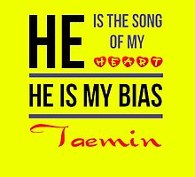 HE IS MY BIAS Taemin - Yellow by Kpop Love