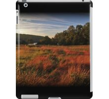 Fall Morning Golden Hour iPad Case/Skin