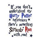Harry Potter references - light shirt by slitheenplanet