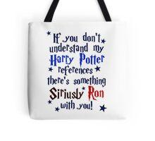 Harry Potter references - light shirt Tote Bag