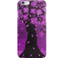 Purple Blossom Tree Design Art iPhone Case/Skin