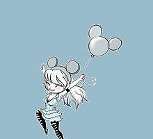Alice in Disneyland by mellieissa