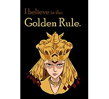 Sailor Galaxia - The Golden Rule Photographic Print