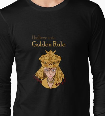 Sailor Galaxia - The Golden Rule Long Sleeve T-Shirt