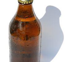 Cold Bottle of Beer by jojobob