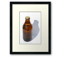Cold Bottle of Beer Framed Print