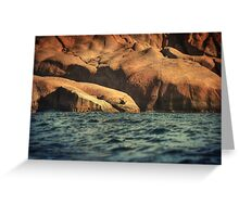 Siren Rocks II Greeting Card