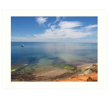 Port Noarlunga ocean view Art Print